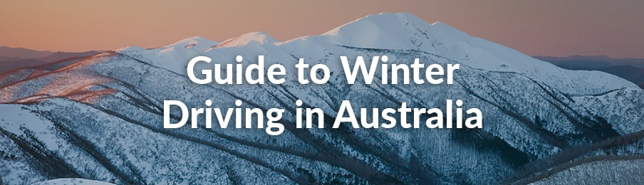 guide to winter driving in australia