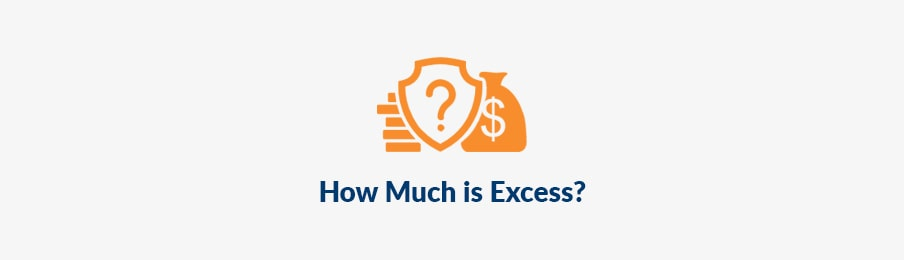 how much is excess