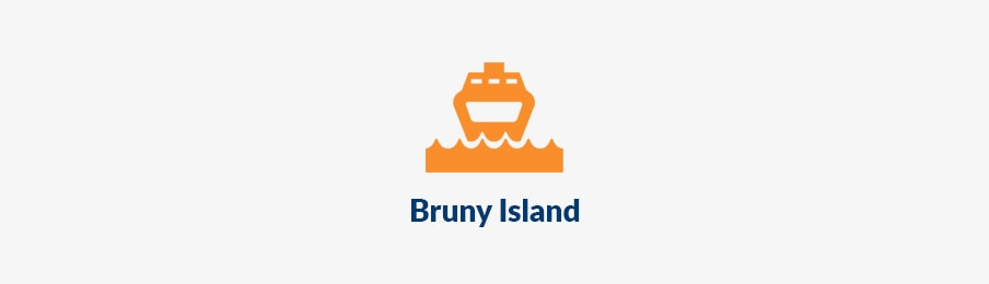 Island travel in bruny island AU banner