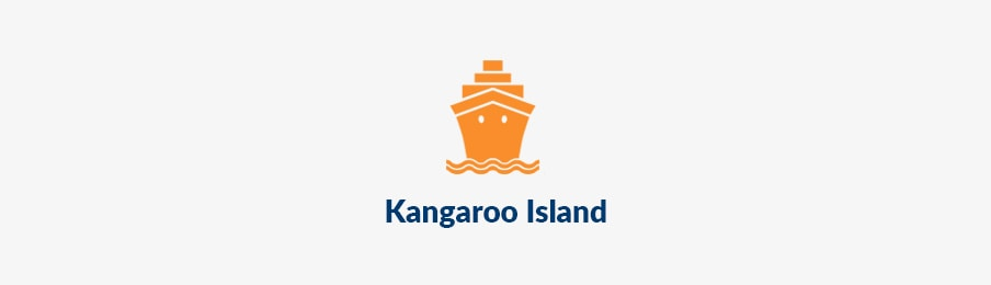 Island travel in kangaroo island AU banner