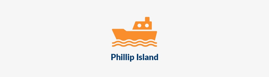 Island travel in phillip island AU banner