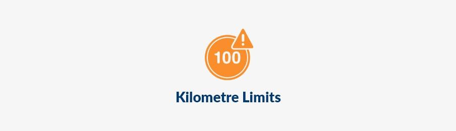 Kilometre limits in AU banner