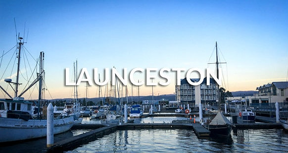 Launceston seaport, Tasmania, Australia
