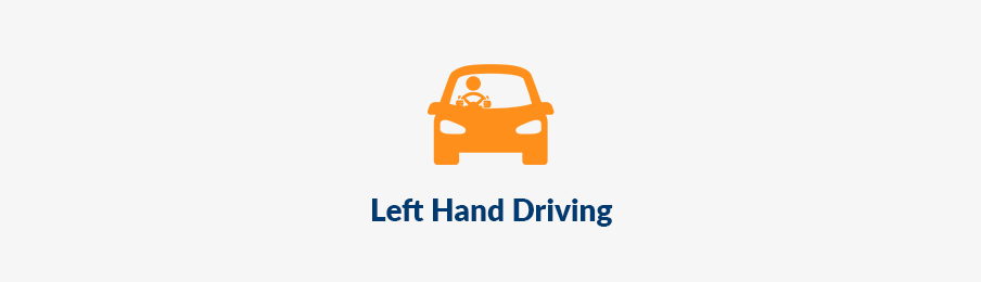 left hand driving