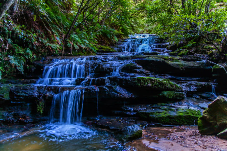 Leura Cascades, Blue Mountains National Park.