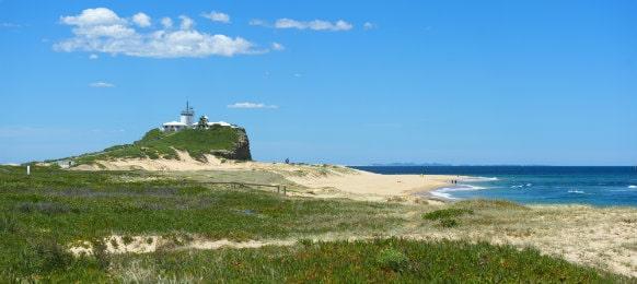 lighthouse in newcastle australia