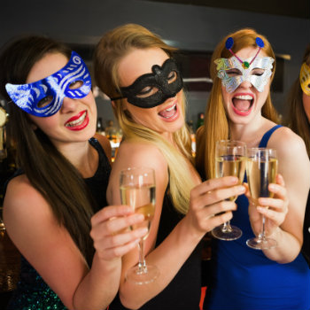 masquerade party in Melbourne