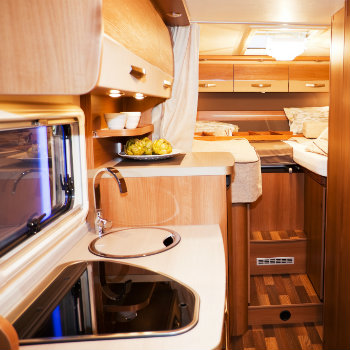Modern Campervan Interior
