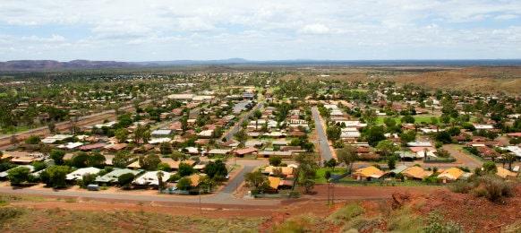 newman town, western australia