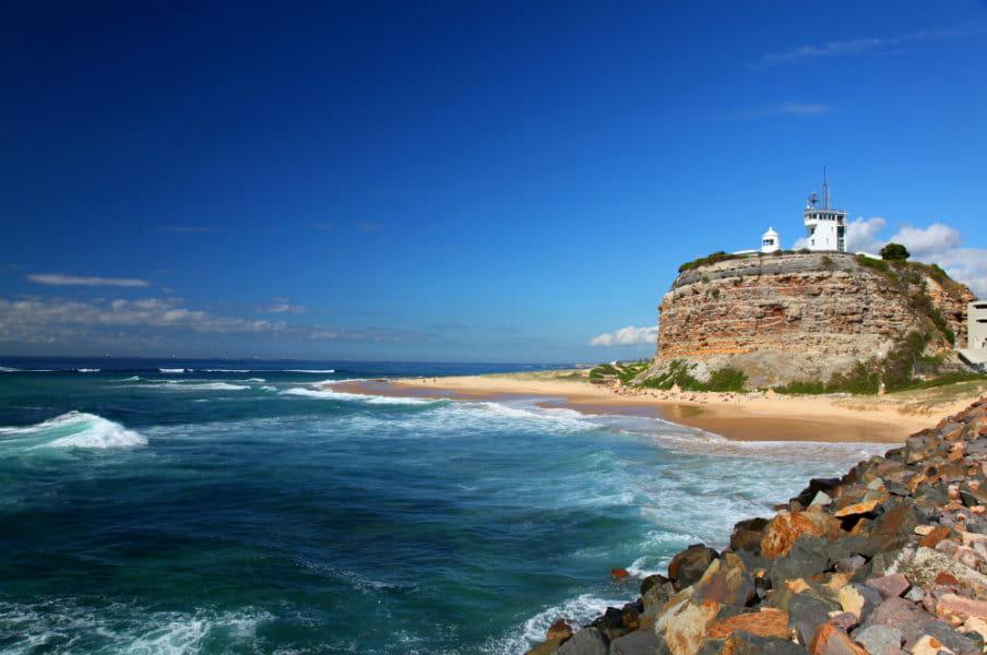 Nobbys Lighthouse, Newcastle, AU