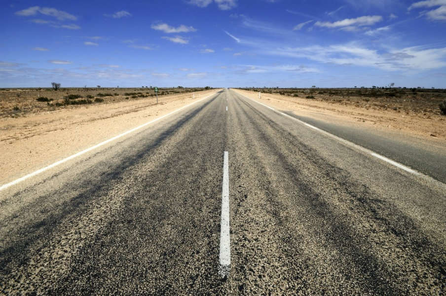 Nullarbor outback road