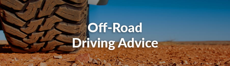 Off-road driving advice in Australia banner