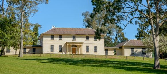 old government house in paramatta, nsw