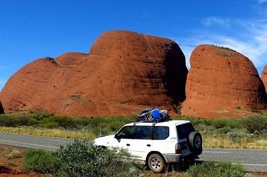 Olgas, Kata Tjuta in Uluru, Northern Territory