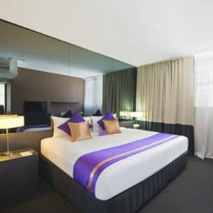 Park Regis City Centre hotel room in Sydney