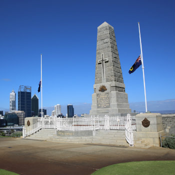 perth war memorial in kings park
