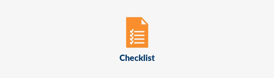 campervan checklist