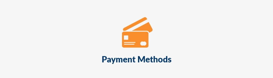 campervan payment methods