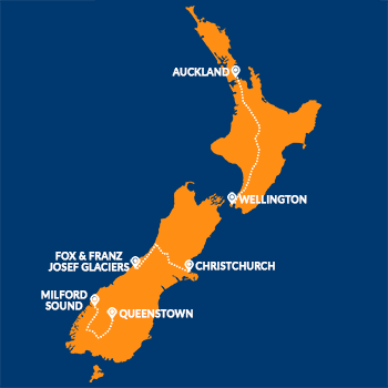 popular road trip routes in new zeland