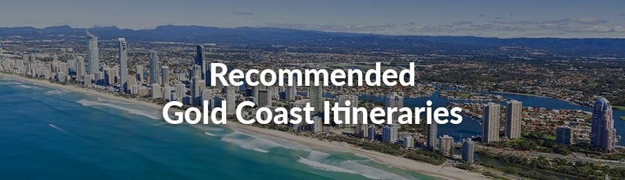Recommended Gold Coast Itineraries guide banner