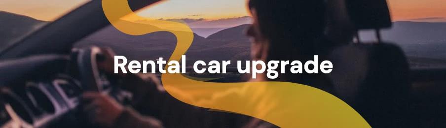 Rental car upgrade