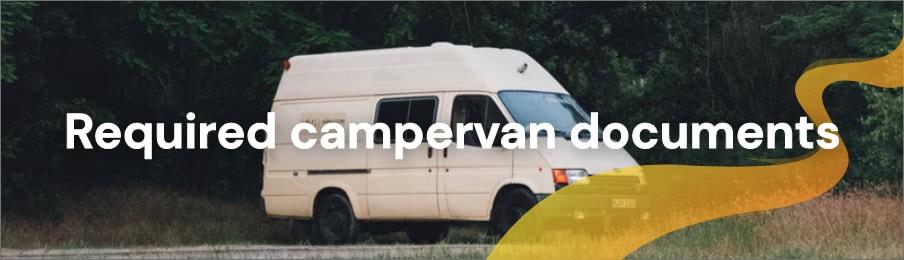 Required campervan documents