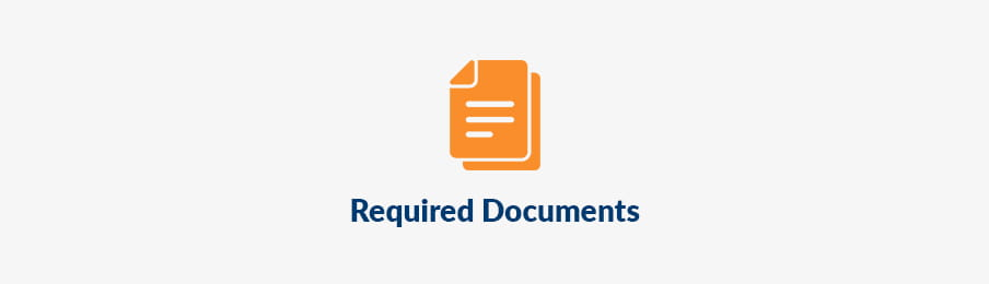 Required documents in AU banner