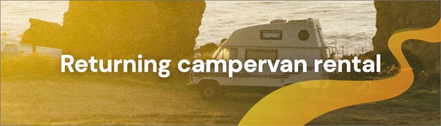 Returning campervan rental
