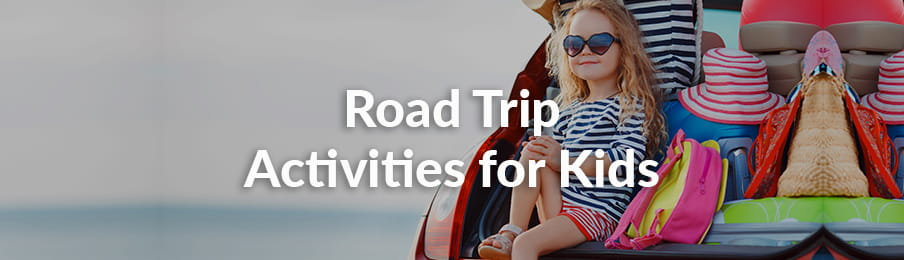 Road Trip Activities For Kids banner