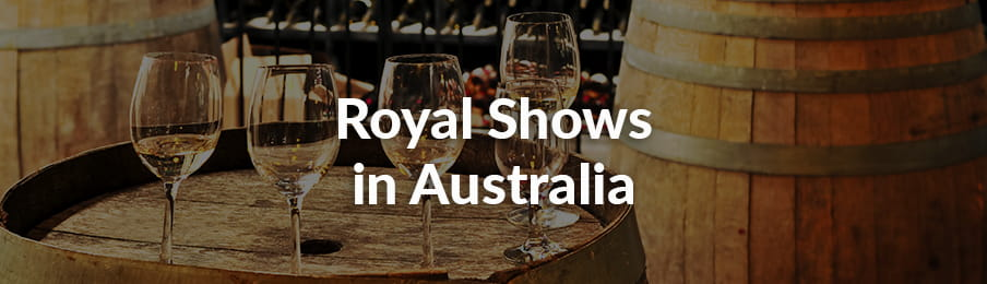 Royal shows and exhibitions in Australia guide banner