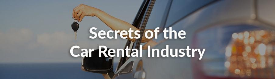 Secrets of the Car Rental Industry in AU banner