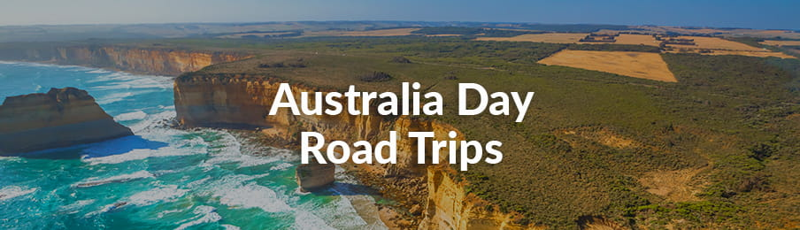 Great Ocean Road aerial view