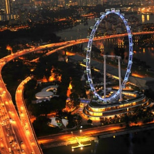 singapore flyer marina bay sands resort