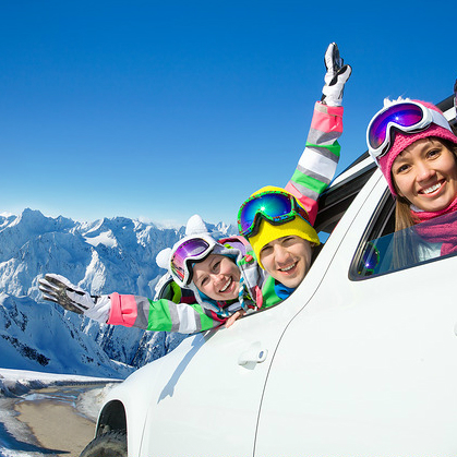 Car rental for the ski season