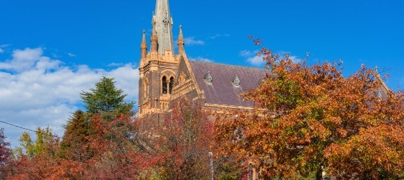 st mary and st joseph cathedral in armidale