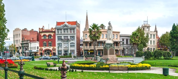 famous landmarks in the central area of bendigo