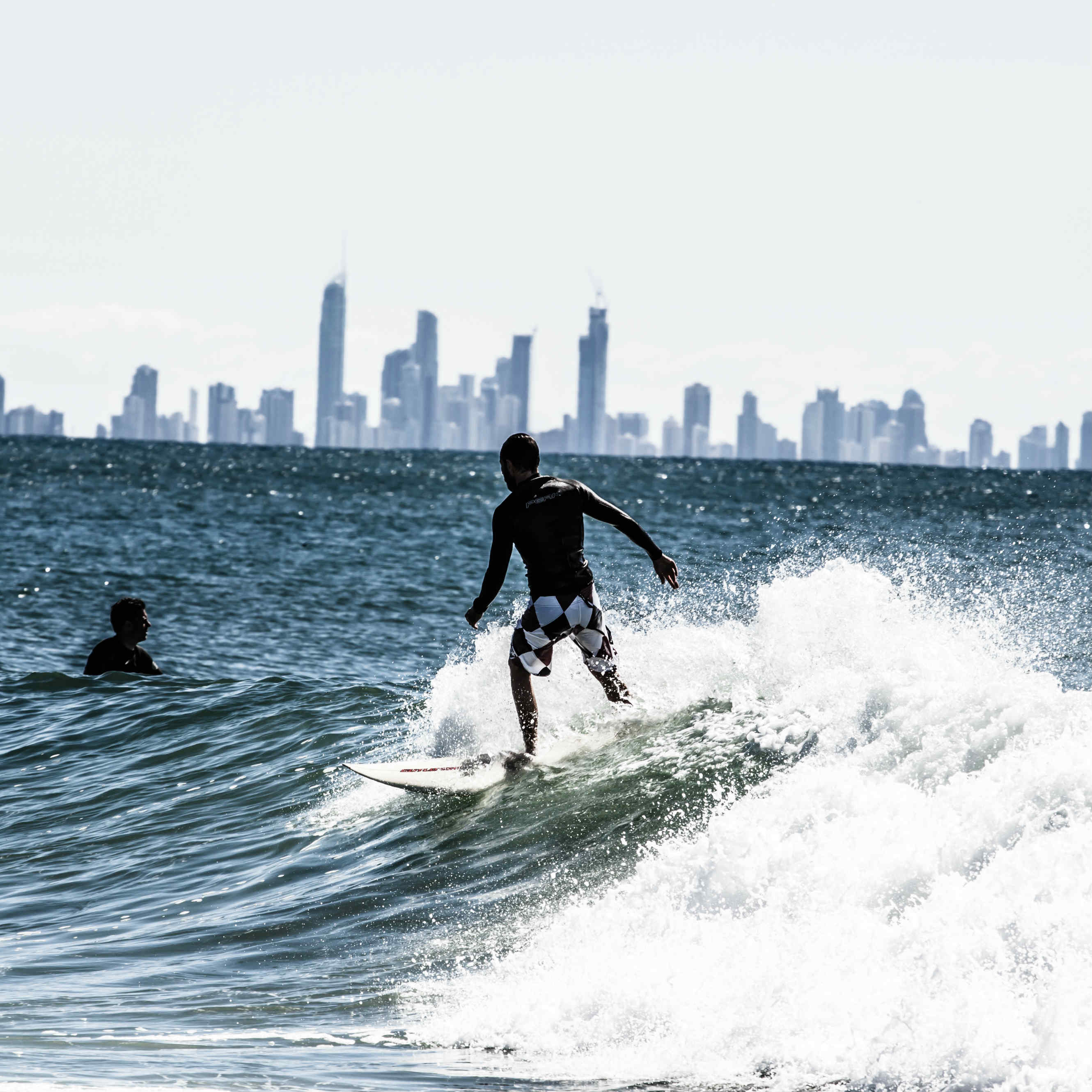 Surfing Gold Coast Australia