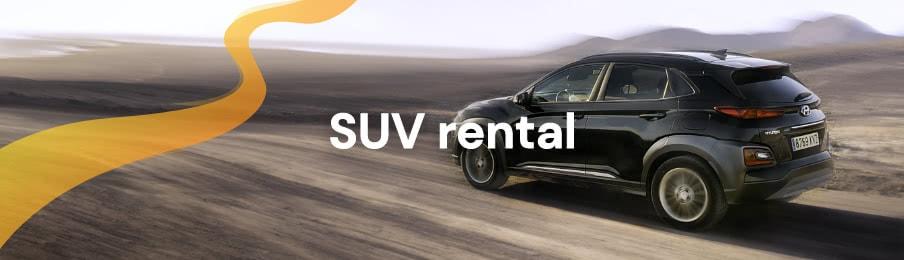 SUV rental