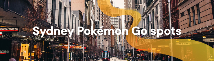 Sydney Pokemon Go spots