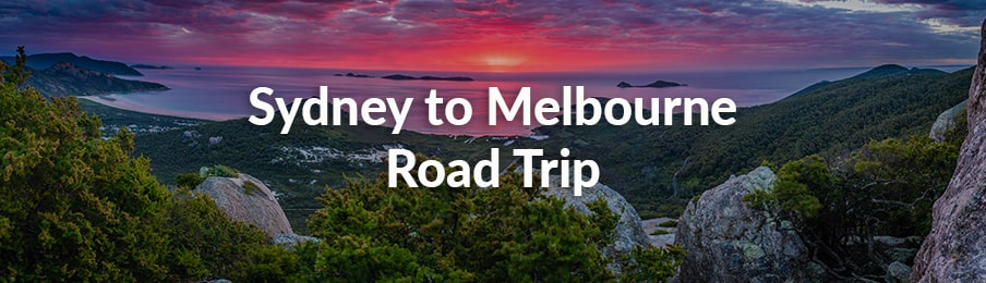 sydney to melbourne road trips