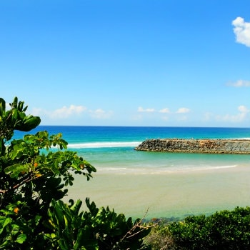 Tallebudgera Creek Gold Coast in Queensland, AU
