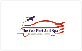 the car port and spa