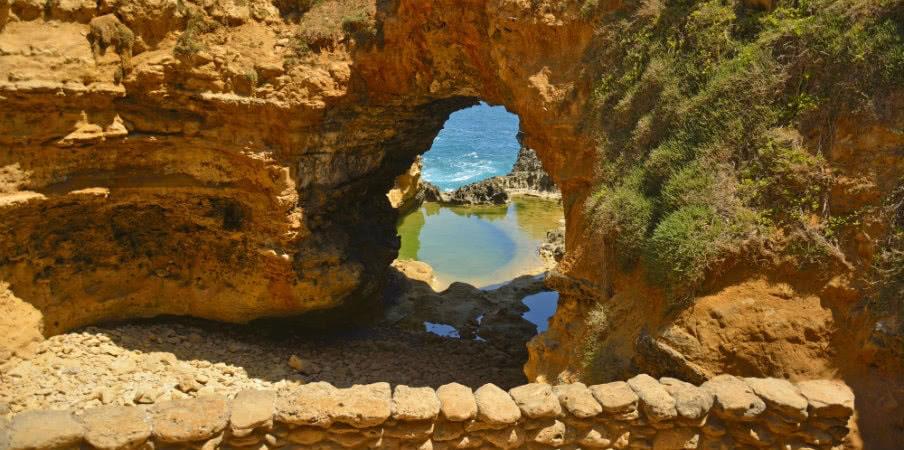 the grotto in victoria