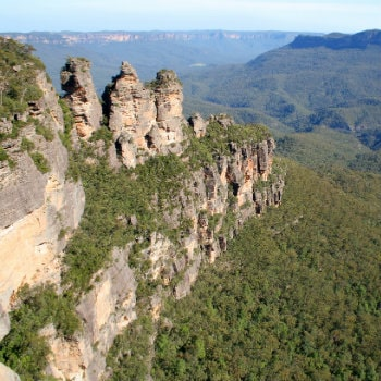 three sisters rock formation