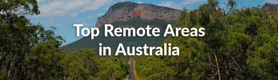 top remote areas in australia