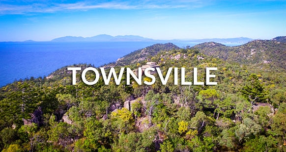 Mountain view of Townsville