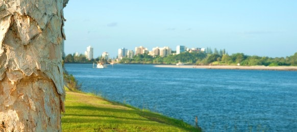 tweed heads city across tweed river