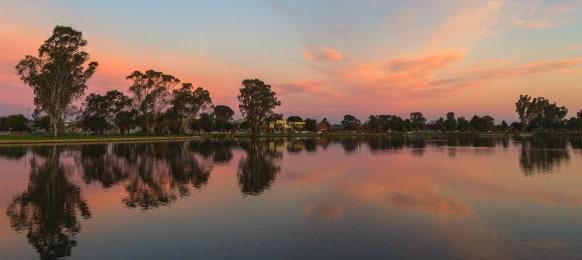 victoria park lake shepparton au