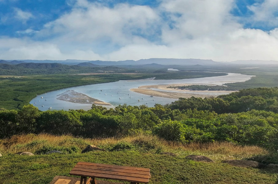 View from Grassy Hill in Cooktown