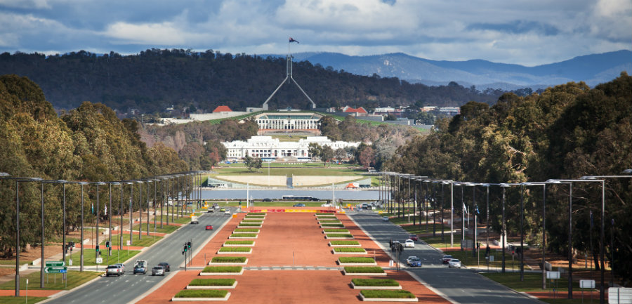 view of canberra, australia